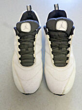 "2010 Nike Air Jordan ""CMFT Max Air 12"" white leather basketball shoes. Men's 12"