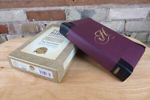 Hendrickson KJV 400th Anniversary Bible, Black Soft Tanned Calfskin Leather