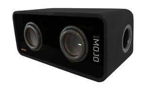 "Memphis Audio MJME8D1 Dual 8"" 3600w MOJO Loaded 1 Ohm Car Subwoofer Enclosure"