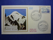 LOT 12856 TIMBRES STAMP ENVELOPPE MONT BLANC FRANCE ANNEE 1986