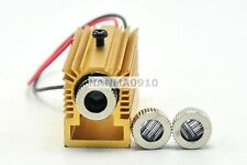 20mw 405nm Violet Blue Laser Diode Adjustable Dot Line Cross Module w/Heatsink