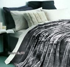 Grey 4kg Supersoft Thick QUEEN / KING MINK Blanket / Bedspread 2.2 m x 2.4m NEW