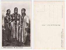 Afrika Abessinien Äthiopien Halb Nackte Frau Afrique Ethnic femmes nude c1925/2