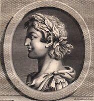 Portrait XVIIIe Lambert II De Spolète Roi Italie Empereur D'Occident Widonides