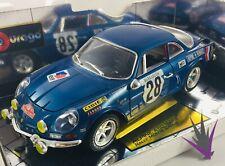Alpine A110 1600S Rally Monte Carlo 1971 1/16 Bburago with box