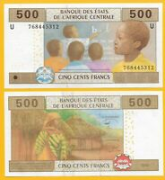 Central African States 500 Francs Cameroon (U) p-206Ue 2002 UNC Banknote