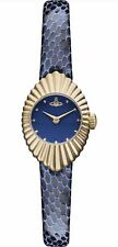 VIVIENNE WESTWOOD 'Concertina' navy dial Time Machine watch VV096NVNV