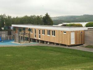 80ft x 18ft modular building, Prefab building, nursery, classroom