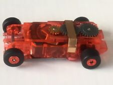 1 Autoworld Ultra G Red Thunderjet Replacement Chassis Fit Some Old Aurora body