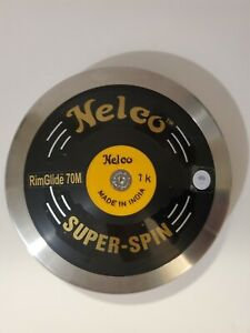 Nelco Super Spin Black Competition Discus 1.00 kg, With Padded Carry Bag