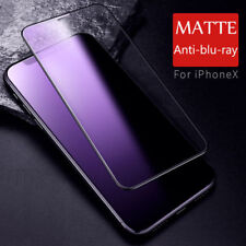 Full Coverage Matte Frosted Tempered Glass Screen Protector For iPhone XS MAX XR