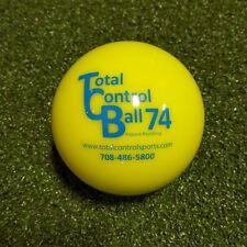 Total Control Ball 74 Weighted Training Baseball Hitting/Batting Aid TCB74, 6 PK