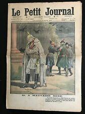 Le petit Journal illustré 14/03/1915; La mauvaise mine du Kaiser/ Torche humaine