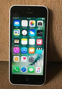 iPhone 5C 16GB (Unlocked) Smartphone - Blue, Yellow & White - See description!