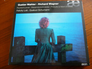 CD  GUSTAV   MAHLER    RICHARD  WAGNER