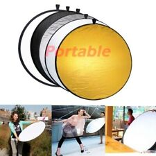 """24"""" 5 in 1 Photography Studio Multi Photo Collapsible Light Reflector"""