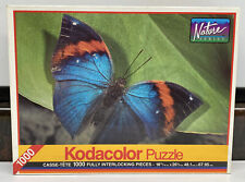 """Kodacolor Butterfly 1000 Pc 18 15/16"""" X 26 3/4"""" Jigsaw Puzzle New Sealed"""