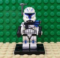 Star Wars Clone Trooper Captain Rex Mini Figure Lego Compatible