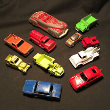 Old Vintage Diecast Lot of Cars and Trucks Mini/Micro Vehicles