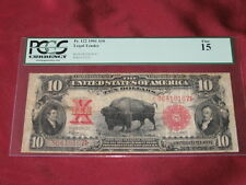 1901 $10 Ten Dollar Bison Note - PCGS 15 Fine