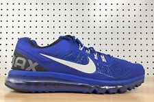 Nike Air Max 2013 Hyper Blue White Black 554886 411 ( 360 90 95 1 OG ) Sz 14