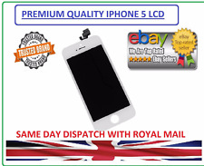 White LCD Digitizer Display Assembly for iPhone 5G.PREMIUM QUALITY.AAA+++