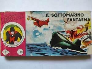 Le Meravigliose Avventure di Maskar - Il Sottomarino fantasma -Edit. Arcobaleno