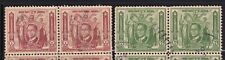 Philippines Year 1936 Scott 408-09 Used Block of 2 Stamps