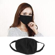 2Pcs Unisex Black Health Cycling Anti-Dust Cotton Mouth Face Respirator Mask,PRO