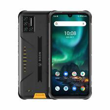 UMIDIGI BISON 6GB+128GB 5000mAh Outdoor Handy Robustes Smartphone Cyber Yellow