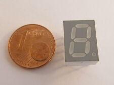 25 Stück QDSP-F199 HP - LED 7-Segment Anzeige 10mm ROT - AE14/9017 - 25pcs