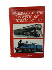 Railways at the zenith of steam, 1920-40, (Railways of the world in colour)