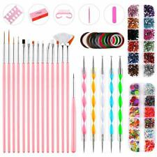 Nail Art Kit, Professional 3D DIY Decoration Manicure Supplies Set