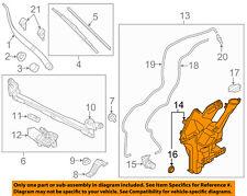 KIA OEM 14-16 Soul Wiper Washer-Windshield-Tank  Bottle Reservoir 98621B2000