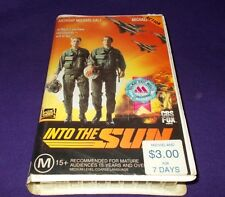 INTO THE SUN VHS PAL CBS FOX / FOX VIDEO ANTHONY MICHAEL HALL
