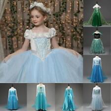 Maskenkostüm Prinzessin Elsa Anna Mädchen Kinder Eiskönigin Party Cosplay