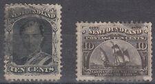 Newfoundland Scott 27, 59 Used (#27 tiny tear at top) - Catalog Value $127.50