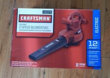 Craftsman 30376 12 Amp 2-Speed Corded Electric Blower & Vac (used)