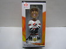 THEOREN FLEURY TEAM CANADA OLYMPIC HAND PAINTED BOBBLEHEAD 2002 GOLD MEDAL RARE
