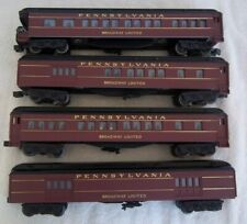 "WILLIAMS PENNSY "" BROADWAY LIMITED""  4 CAR SET LIGHTED"