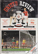 Manchester United v Swansea City 1982 / 1983 Division 1 - May 7