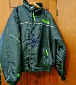 Vintage Arctic Cat Winter Jacket with Zip-Out Lighter-Weight Jacket  Size XL