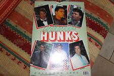 Hollywood HUNKS Kalender 1994,ovp in Folie, 42 x 30 cm Posterkalender