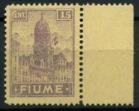 Fiume 1919 Sass. A36 zzb Nuovo ** 100% Allegorie e vedute