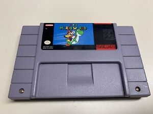 Authentic Super Mario World (NINTENDO ,SNES) *CARTRIDGE ONLY FULLY FUNCTIONAL*
