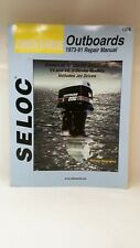 Johnson Evinrude 3 cylinder v4 and v6 Outboards 1973-91 Repair Manual SELOC