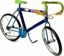 Recycled Tin Model Racing Bike Bicycle Ornament Handmade Eco Collectables