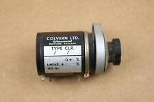 Colvern Precision Potentiometer 50k Ohm 10 Turn Clr 23 01 13 5 Lin 01 England
