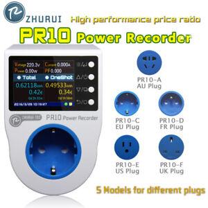 PR10-C EU16A Plug Power meter watt/energy meter/ kwh meter/socket meter tester