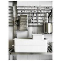 Parete IN Acciaio; (56x26, 5cm) Barra Wandschienen Utensili da Cucina